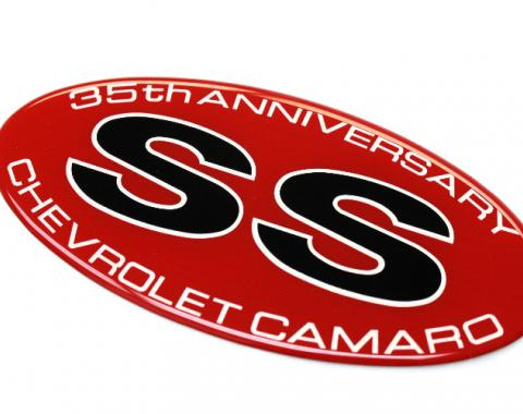 Camaro SS 35th Anniversary Fender Decal, 2002