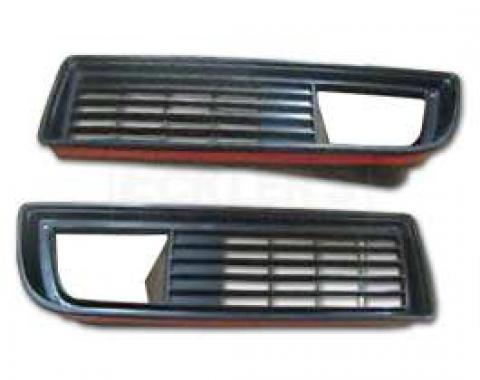 Firebird Grilles, Lower, 1979-1981