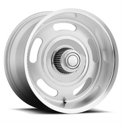 Voxx B/G Rod Works Rally Silver Wheels with Machined Lip, 17x9