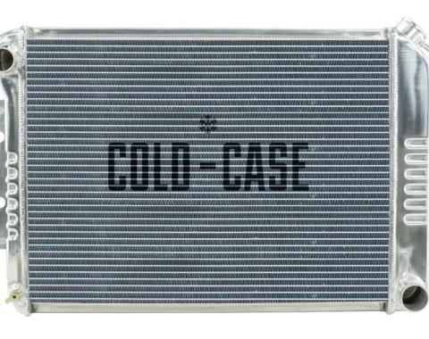 Cold Case Radiators 67-69 Camaro BB / Firebird Manual Transmission Aluminum CHC11