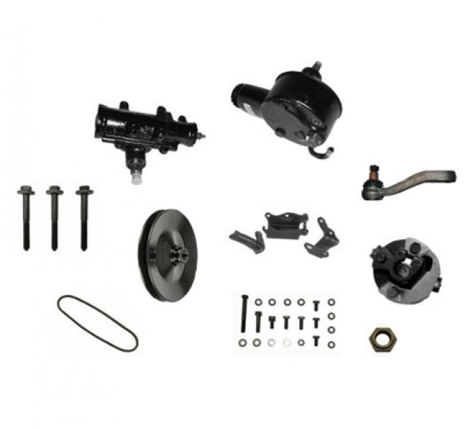 Camaro Power Steering Conversion Kit, 327 with Standard Ratio Gear Box and Without Air Conditioning, 1968