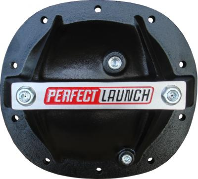 Proform Differential Cover, 'Perfect Launch' Model, Fits GM 7.5, Aluminum, Black 66667
