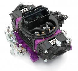 Proform Black Street Series Carburetor, 750 CFM, Mechanical Secondary, Black & Purple 67313