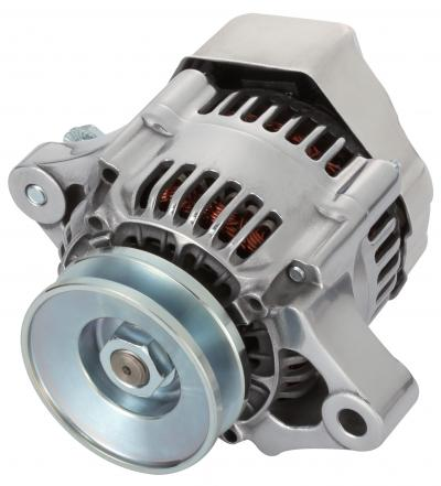 Proform 100% NEW, POLISHED, 1-WIRE MINI ALTERNATOR, GM 50 AMP. 66433