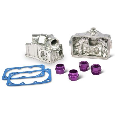 Proform Carburetor Aluminum Fuel Float Bowl Kit, Center Hung Float Model w/Sight Glass 67162