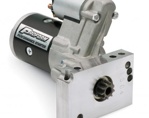 Proform High-Torque Starter, Gear Reduction Type, 1.4KW, Fits Chevy V8-V6 Engines 66256