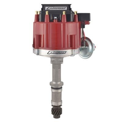 Proform HEI Distributor, Street/Strip, Built-In Coil, Red Cap, Fits Buick V8 Engines 67088