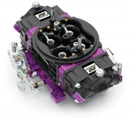 Proform Black Race Series Carburetor, 850 CFM, Mechanical Secondary, Black & Purple 67303
