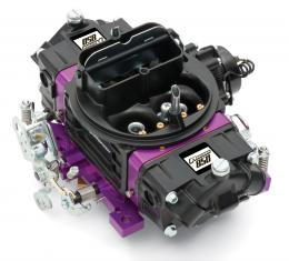 Proform Black Street Series Carburetor, 850 CFM, Mechanical Secondary, Black & Purple 67314