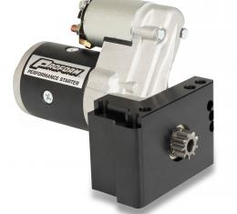 Proform High-Torque Mini Starter, 1.4KW, Fits Chevy V8, Staggered Bolt Mounting Plate 66266