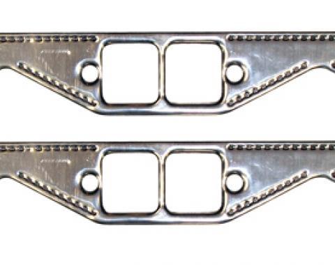 Proform Engine Header Gasket Set, Small Block Chevy, Square Port, Aluminum Material,Pair 67921