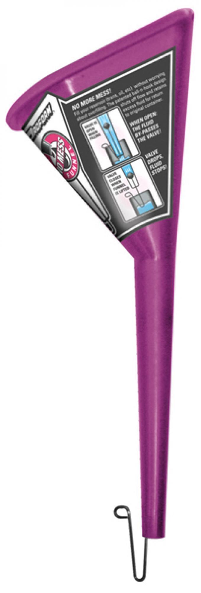 Proform Funnel, Proform No-Mess Model, Purple, Patented Design, Sold Each 68068
