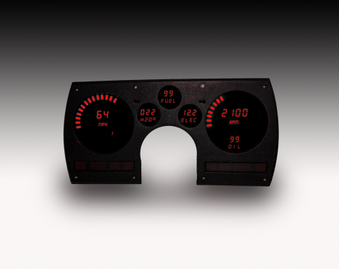 Intellitronix 1982-1990 Camaro LED Digital Gauge Panel DP4003