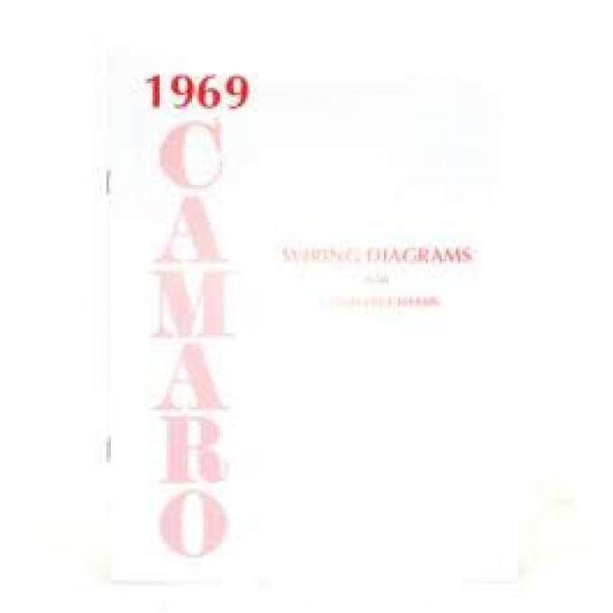 Camaro Wiring Diagram Manual, 1969