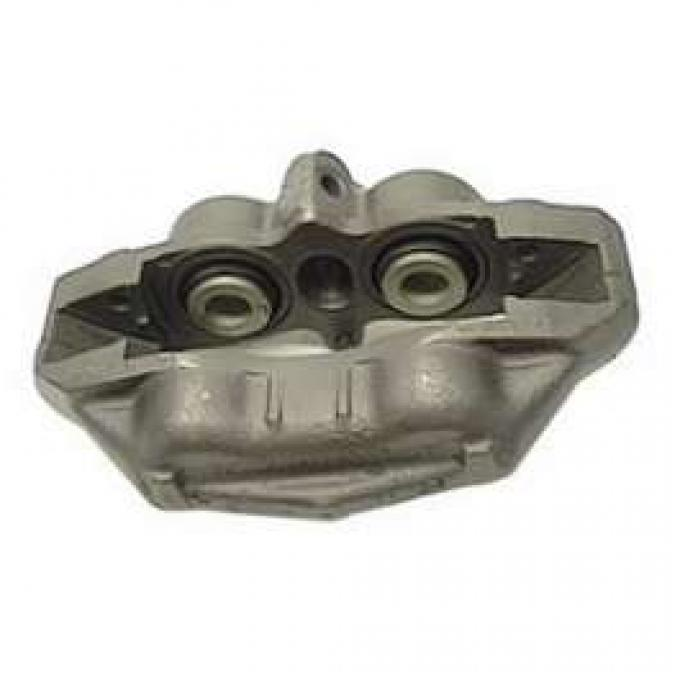 Camaro Four-Piston Disc Brake Caliper Assembly, Left, Rebuilt Originals, 1967-1968