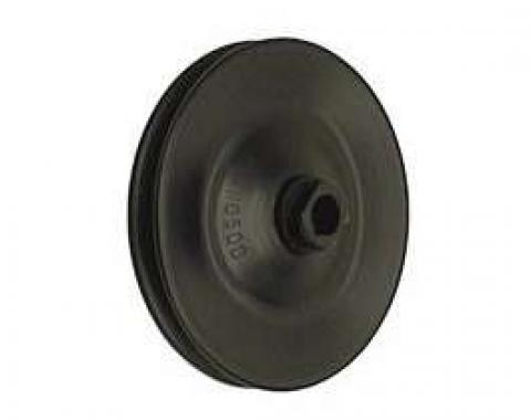 Camaro Power Steering Pump Pulley, 302ci & 396/375hp, Deep Single Groove, 1969