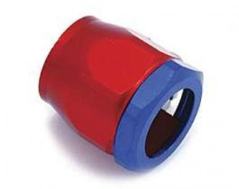 Camaro Heater Hose Clamp, Red/Blue, 3/4