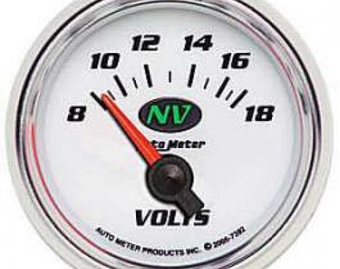 Camaro Voltmeter Gauge, NV, AutoMeter