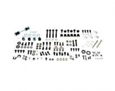 Camaro Master Chassis Assembly Hardware Kit, For Cars With Small Block & Disc Brakes, 1967