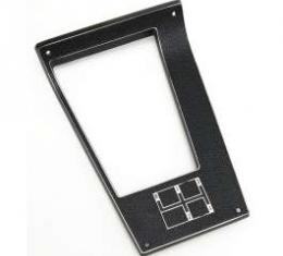 Camaro Console Shifter Plate, 4-Speed Manual Transmission, 1970-1971