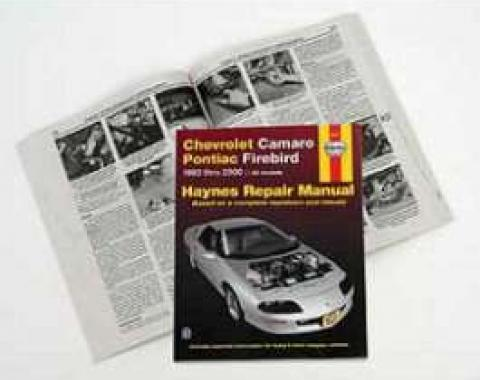 Camaro Repair Manual, Haynes, 1993-2000