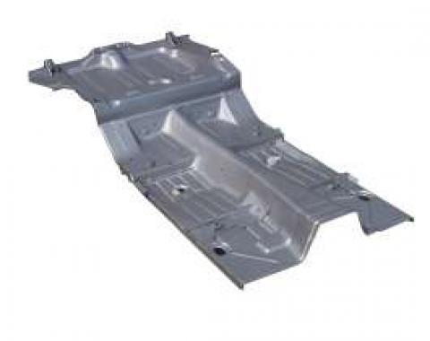 Camaro Floor Pan, Complete, Coupe Or Convertible, 1969