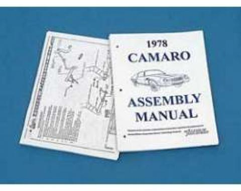 Camaro Assembly Manual, 1978