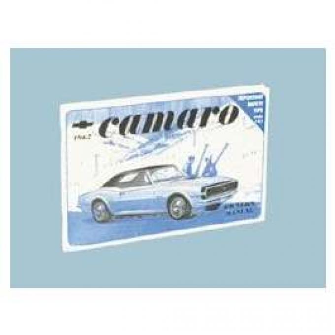 Camaro Owner's Manual, Glove Box, 1967