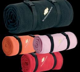 Camaro Fleece Blanket, Red