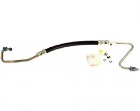 Camaro Power Steering Pressure Hose, 2.8L & 3.1L V6 & 5.0L E Motors With Air Conditioning, 1988-1992