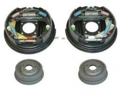 Camaro Drum Brake Assembly Kit, Rear, 1967-1969