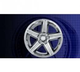"Camaro IROC-Z Reproduction Chrome Wheel,Aluminum, 17"" X 8"", 1967-1992"