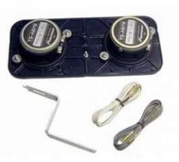 Camaro Kenwood In Dash Speakers For Cars With Air Conditioning, 1967-1969