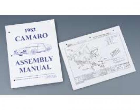 Camaro Factory Assembly Manual, 1982