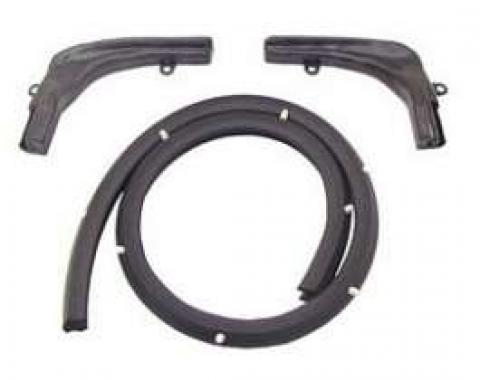 Camaro Convertible Top Header Weatherstrip Set, 1967-1969