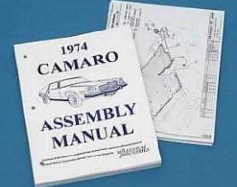 Camaro Assembly Manual, 1974