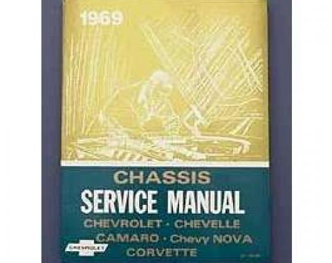 Camaro Book, Chevrolet Chassis Service Shop Manual, 1969