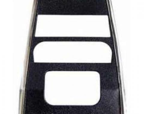Camaro Dash Panel Bezel, Center, For Cars Without Air Conditioning, 1967-1968