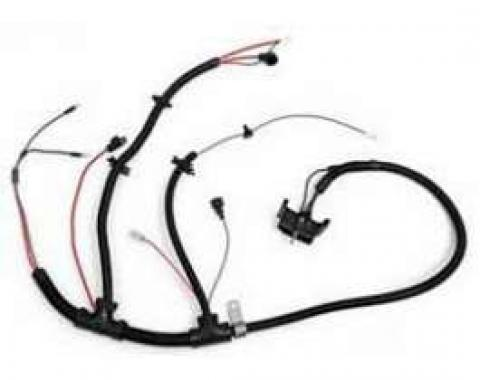 Camaro Engine Wiring Harness, V8, With NB2 Cal Emissions, 1978