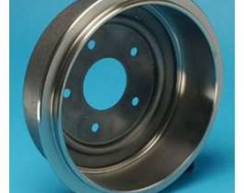 Camaro Drum Brake, Front, Non-Ribbed, 1967-1968