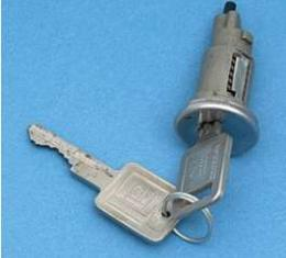 Camaro Ignition Lock, With Late Style Keys, 1968
