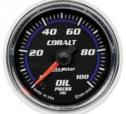 Camaro Oil Pressure Gauge, Cobalt, AutoMeter