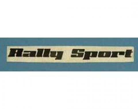 Camaro Body Decal, Rally Sport, 1976-1977