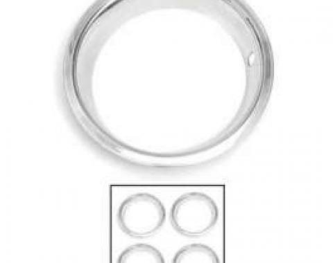 Camaro Rally Wheel Trim Ring Set, 14 x 7, 1970-1981