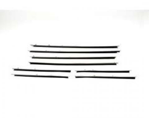 PUI Standard Windowfelt Weather Strip Kit 1967 Camaro Hardtop F234-1