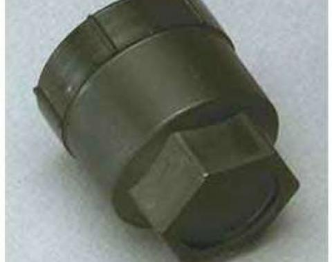 Camaro Lug Nut Caps, Plastic, Black, 1988-1992