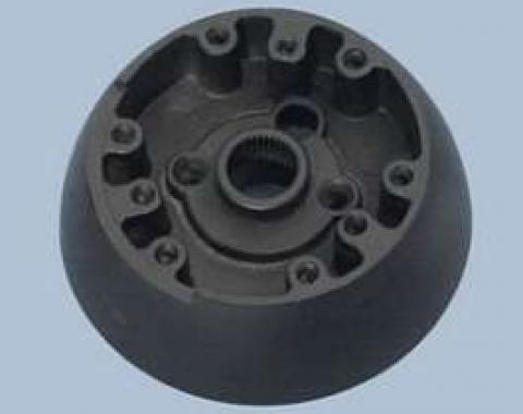 Camaro Steering Wheel Mounting Hub For Wood And Comfort Grip Wheel, 1969-1970