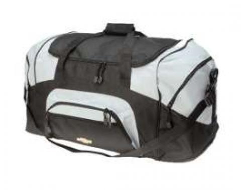 Sport Duffel Bag, Colorblock, With Bowtie Logo