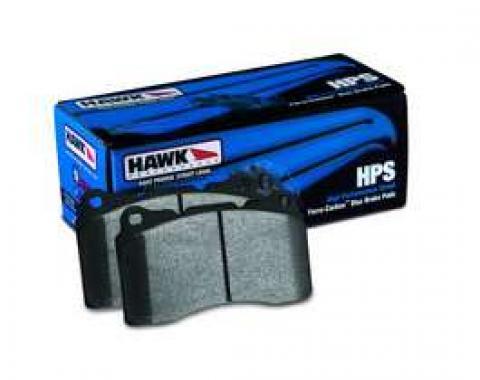 Camaro Brake Pads, HPS Compound, V8, Front, 2010-2011