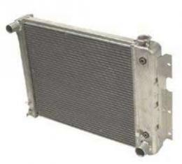 """Camaro Aluminum Radiator, 1"""" Tubes, For Cars With Automatic Transmission, Griffin, 1970-1979"""